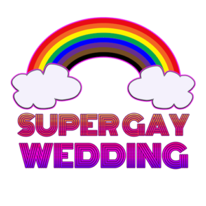 Listen to the Super Gay Wedding podcast