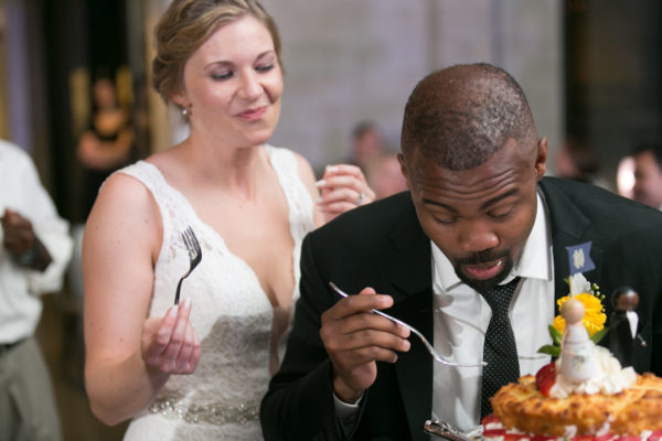 You'll have time to eat with a professional wedding planner managing your day.